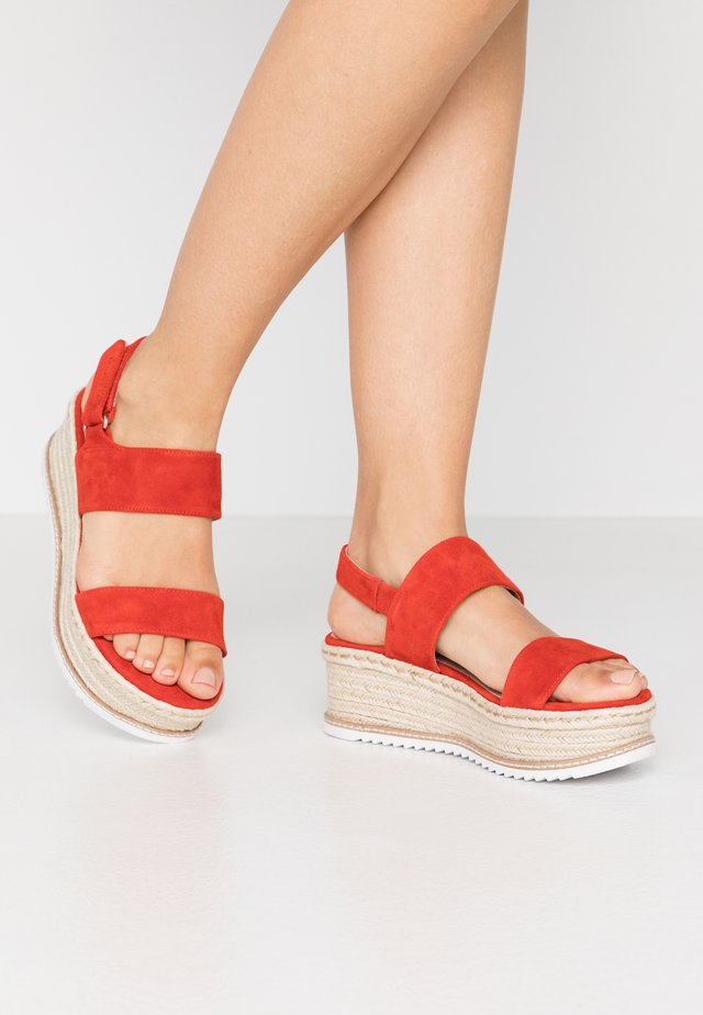 Espadrillot - orange
