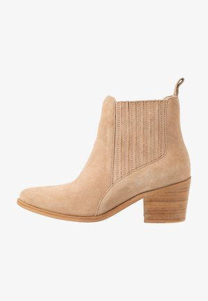 JANET 3A - Boots à talons - sand