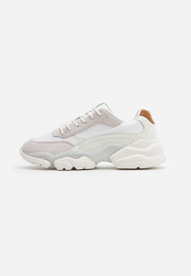 JULIA - Sneakersy niskie - white/cognac