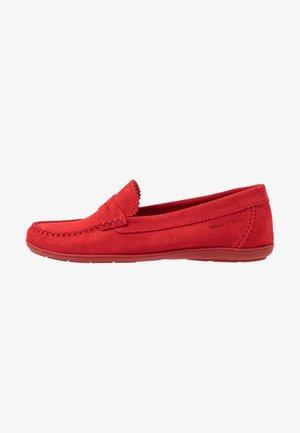 NATASHA  - Nazouvací boty - red
