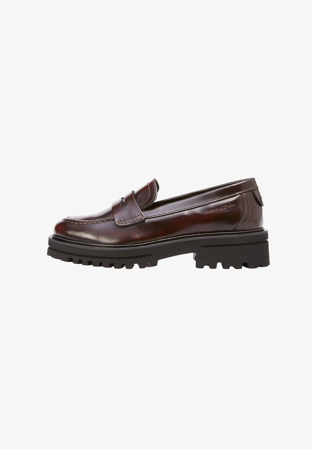 Buty żeglarskie - bordo