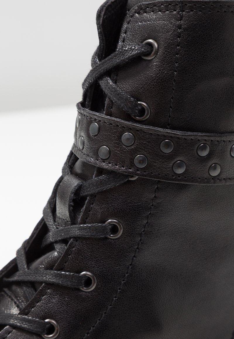 Bottines Black Lacets O'polo Marc À N80nvmw
