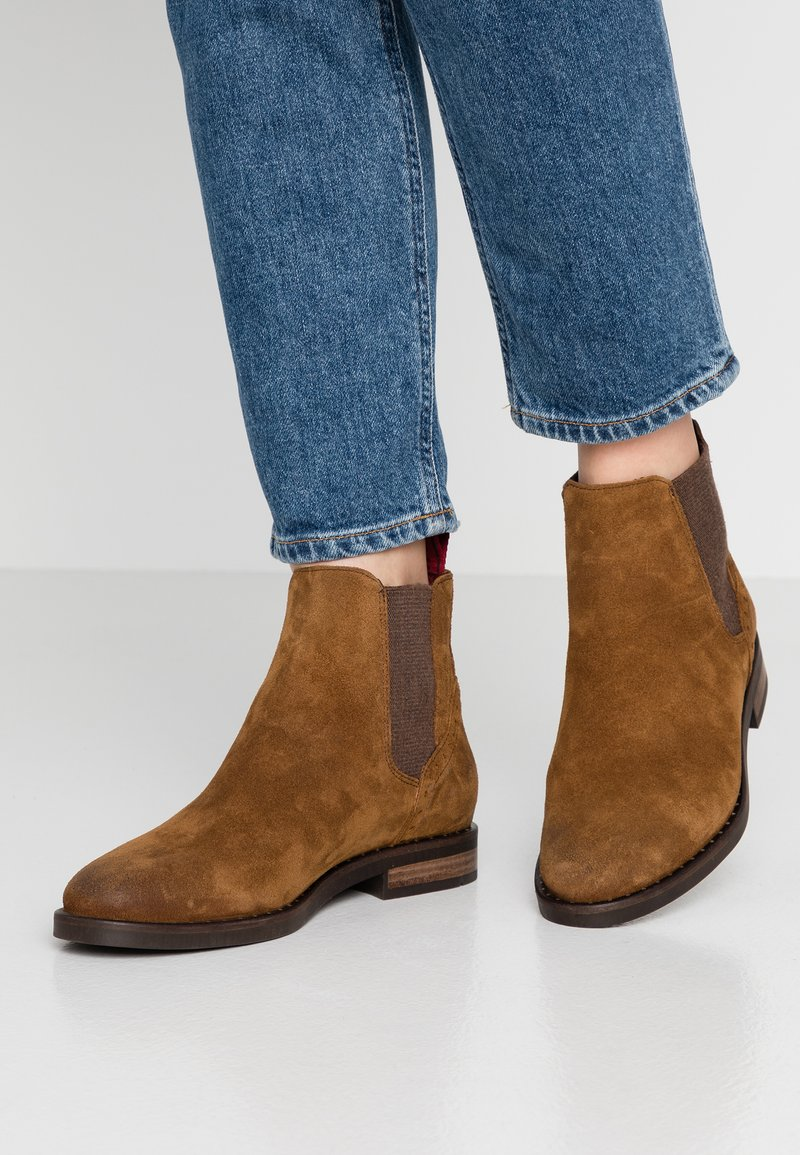 Marc O'Polo - Ankle boots - cognac