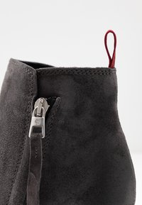 Marc O'Polo - High heeled ankle boots - dark grey - 2