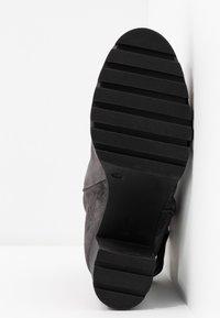 Marc O'Polo - High heeled ankle boots - dark grey - 6
