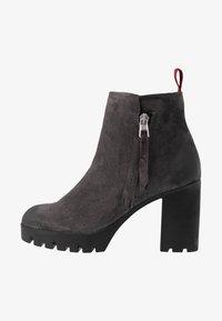 Marc O'Polo - High heeled ankle boots - dark grey - 1