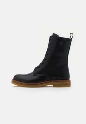 BRENDA - Lace-up ankle boots - black