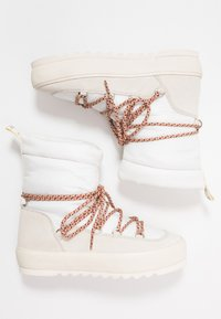 Marc O'Polo - Bottines à lacets - offwhite - 3