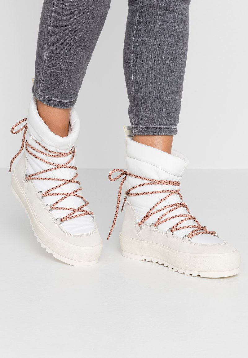 Marc O'Polo - Bottines à lacets - offwhite