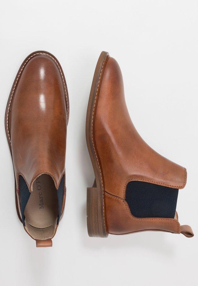 PAULI  - Classic ankle boots - cognac