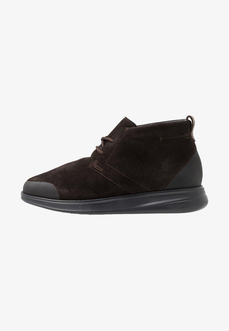 Marc O'Polo - Zapatos con cordones - dark brown