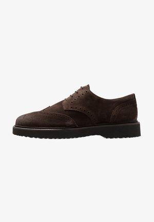 Oksfordki - dark brown
