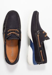 Marc O'Polo - Chaussures bateau - navy - 1