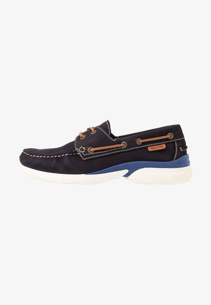 Marc O'Polo - Chaussures bateau - navy