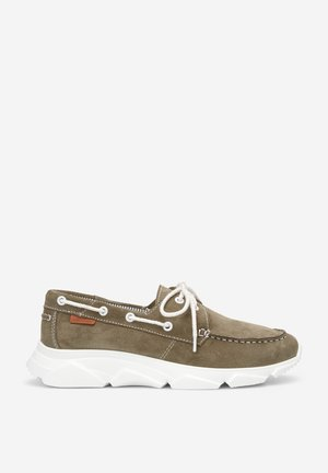CHAUSSURES BATEAU - Boat shoes - green