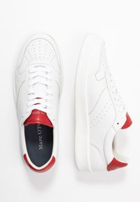 Marc O'Polo - KALLE 1B - Trainers - white/red - 1