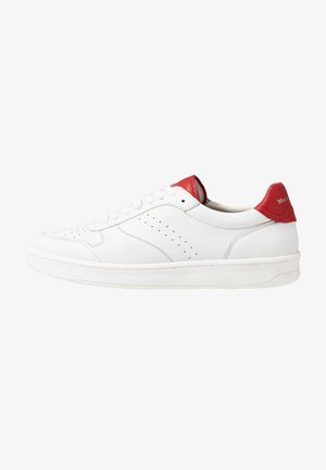 KALLE 1B - Sneakers - white/red