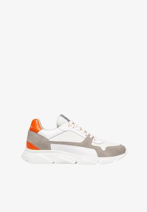 SNEAKERS - Trainers - offwhite/orange