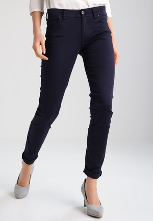 FIVE POCKET FIT ALBY  - Trousers - deep sea blue