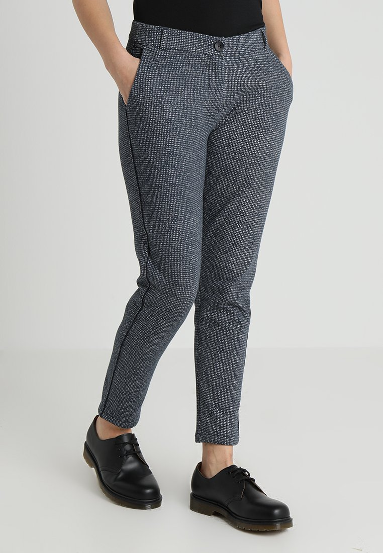 Marc O'Polo - PANTS FLAP DETAIL - Kalhoty - grey