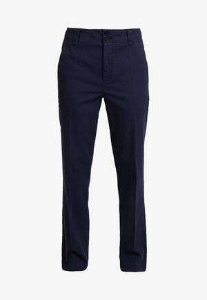 PANTS TAPERED FIT ANKLE LENGTH - Chino - deep atlantic