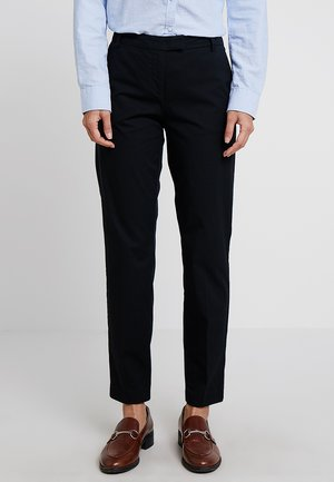 PANTS REGULAR RISE BUT COMFY - Trousers - black