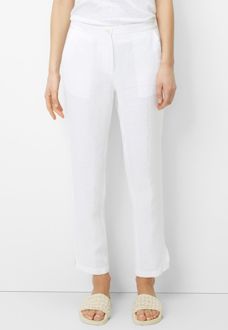 Marc O'Polo - Pantalon classique - white