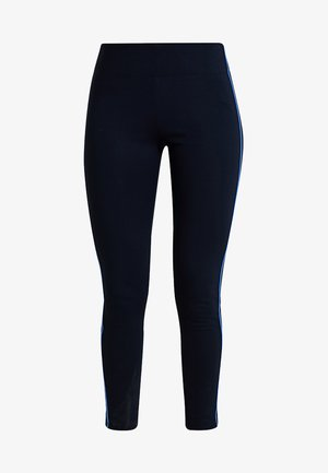 CONTRAST PIPING - Legging - midnight blue