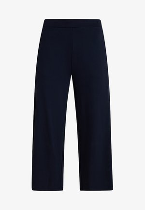 CROPPED LENGTH - Bukse - midnight blue
