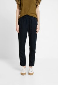 Marc O'Polo - PANTS STYLE DRAWSTRING  - Jeans Tapered Fit - blue/blue denim - 0