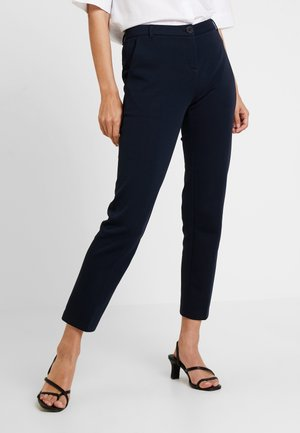 PANTS TAILORED - Trousers - midnight blue