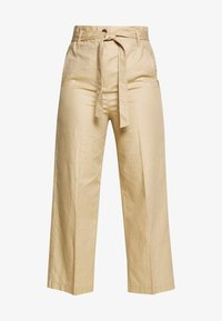 Marc O'Polo - PAPERBAG STYLE - Trousers - swedish pine - 3