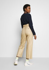 Marc O'Polo - PAPERBAG STYLE - Trousers - swedish pine - 2