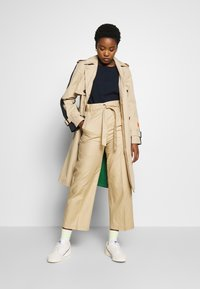 Marc O'Polo - PAPERBAG STYLE - Trousers - swedish pine - 1