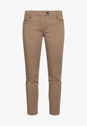LAXA  - Trousers - shaded walnut