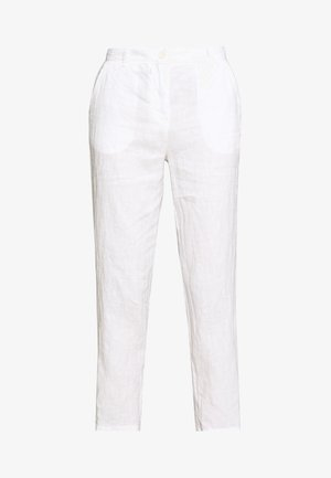 PANTS MEDIUM RAISE - Pantalones - white