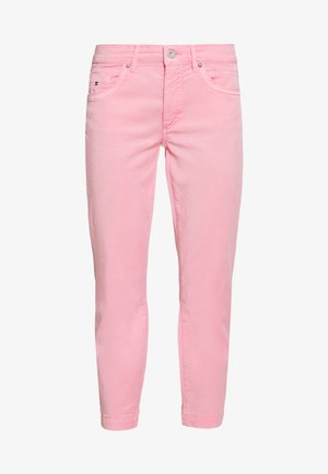 5 POCKET MID WAIST SLIM LEG - Trousers - sunlit coral