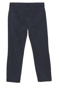 Marc O'Polo - 5 POCKET MID WAIST SLIM LEG - Trousers - night sky - 1