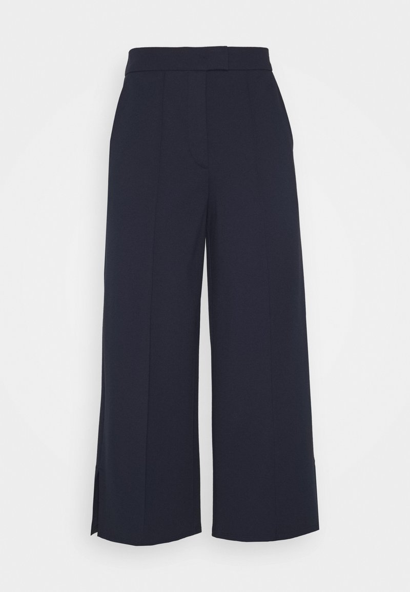 Marc O'Polo - CULOTTE SHAPE CROPPE - Broek - night sky