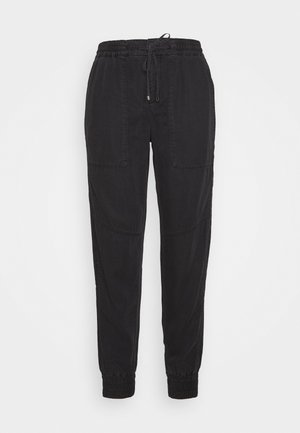 TRAVEL PANTS - Pantalon classique - black