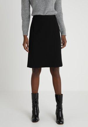 SKIRT STRAIGHT PENCIL SHAPE MODER - Pencil skirt - black