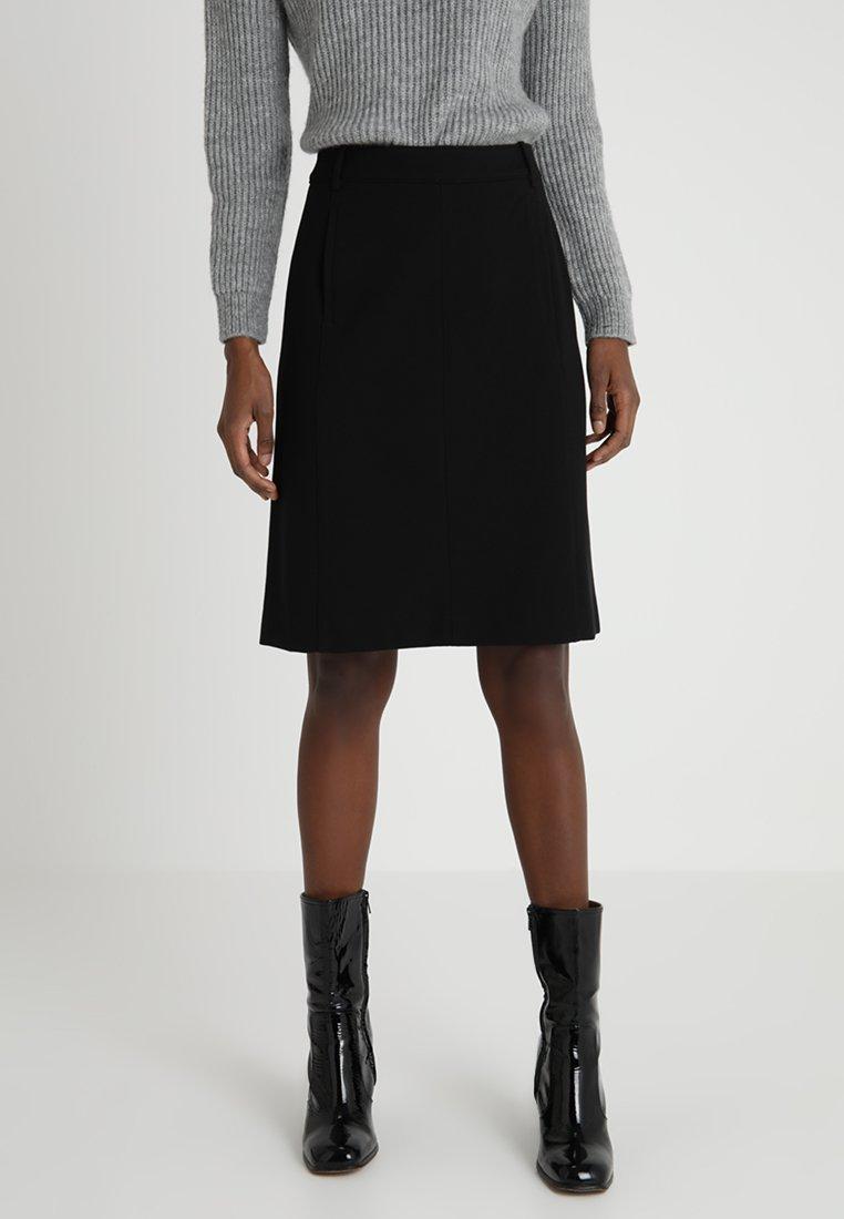 Marc O'Polo - SKIRT STRAIGHT PENCIL SHAPE MODER - Pencil skirt - black