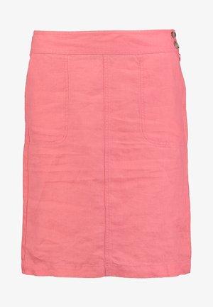 SKIRT EASY STRAIGHT SILHOUETTE - Pencil skirt - peach pink
