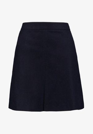 SHORT SKIRT FEMININE CUTLINES - A-line skjørt - midnight blue
