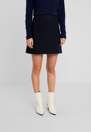 SKIRT SHORT STYLE - A-line skirt - midnight blue