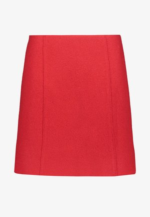 ROCK - A-line skirt - red