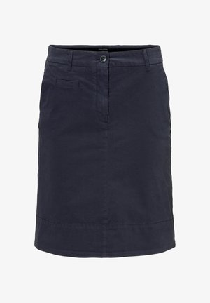 SKIRT CHINO STYLE SHORT LENGTH - A-Linien-Rock - night sky