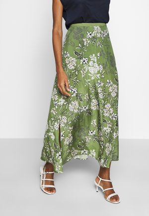 SKIRT FLUENT STYLE PRINTED - Gonna lunga - multi