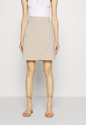 A-line skirt - feather grey
