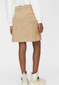 Marc O'Polo - A-line skirt - beige - 2